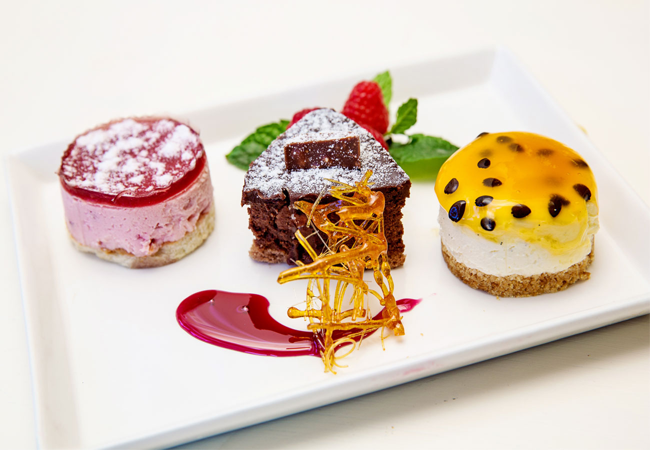 See our dessert ranges